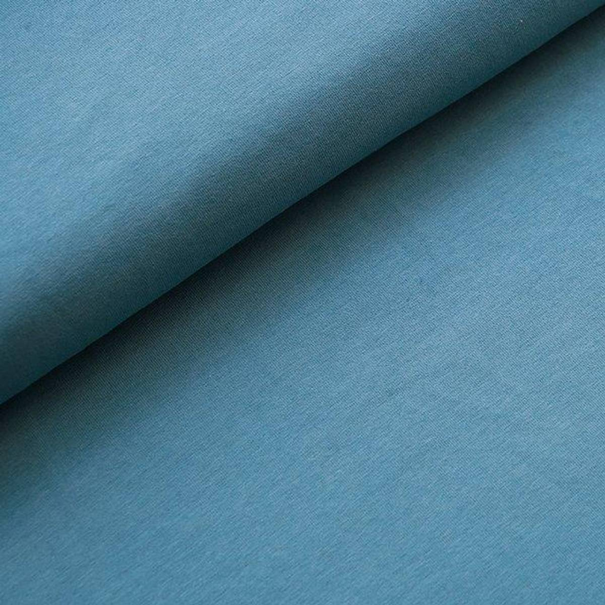 Økologisk jersey, beach house blue
