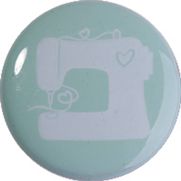 Bilde av Motivknapp med symaskin