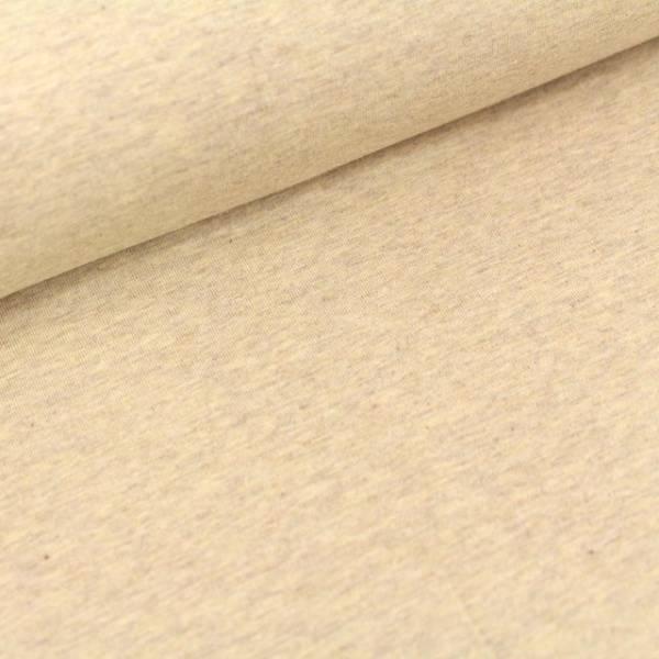 Bilde av Økologisk french terry, tobago (beigemelert)