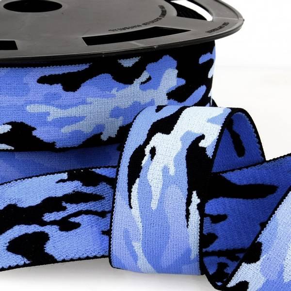 Bilde av Boxerstrikk, 3,8cm army blå