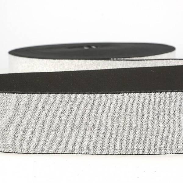 Bilde av Mykt metallstrikk  4cm, sølv